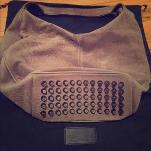 Alexander Wang gray Hobo bag authentic